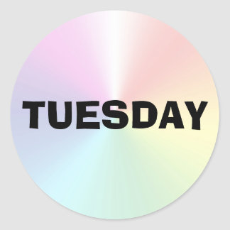 Tuesday Ad Lib Shimmer Sticker by Janz