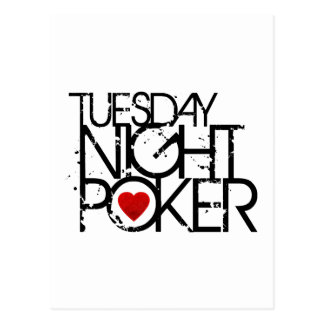 Tuesday Night Poker Postcard