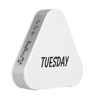 tuesday speaker