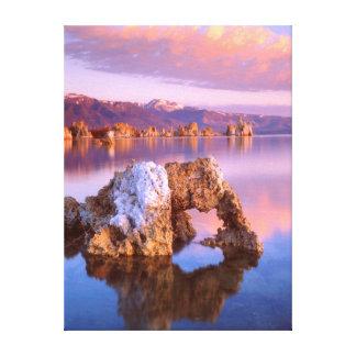 Tufa arch at Mono Lake Canvas Print