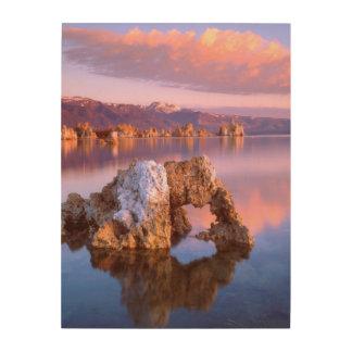 Tufa arch at Mono Lake Wood Prints