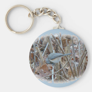 Tufted Titmouse Songbird Coordinating Items Keychains