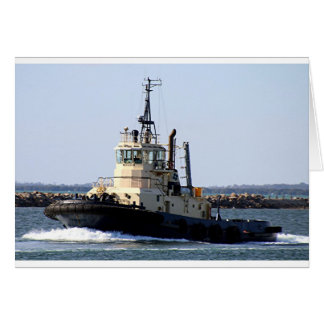 Tug boat 3 card
