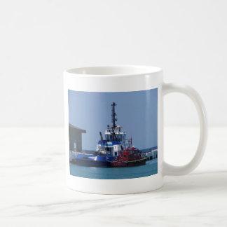 Tug Boat And Pilot Boat Basic White Mug