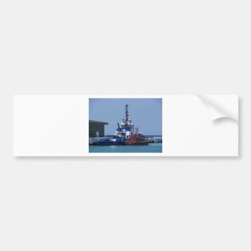 Tug Boat And Pilot Boat Bumper Stickers