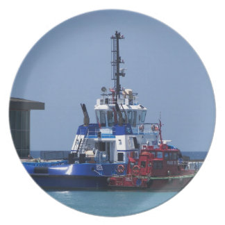 Tug Boat And Pilot Boat Plate