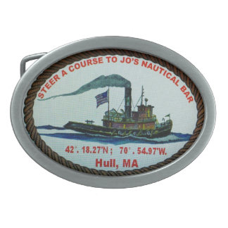 tug boat belt buckle