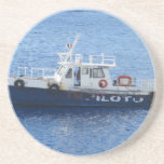 Tug Boat on Blue Water