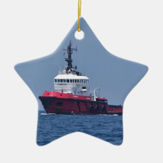 Tug Eurosund Christmas Ornament