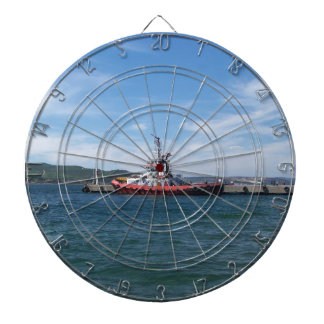Tug In Harbor Dartboard
