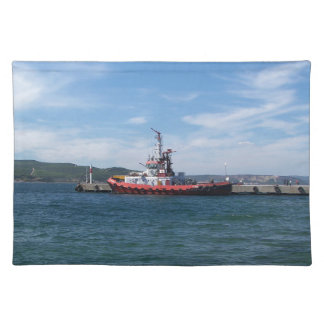 Tug In Harbor Placemat