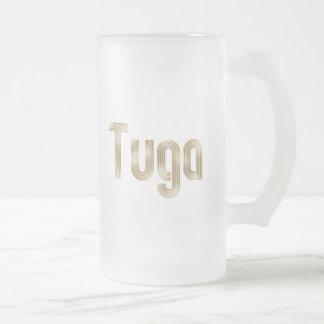 Tuga até o morte - Selecção das Quinas Presentes Frosted Glass Mug