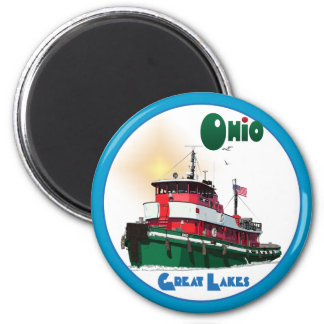Tugboat Ohio Magnet