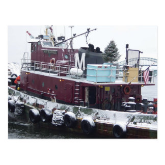 tugboat postcard