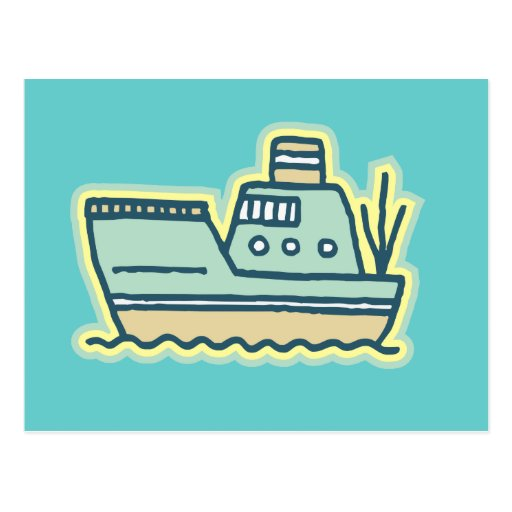 Tugboat Tshirts and Gifts Postcard