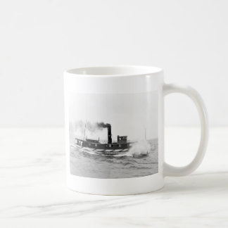 Tugboat William Sprague, late 1800s Coffee Mug