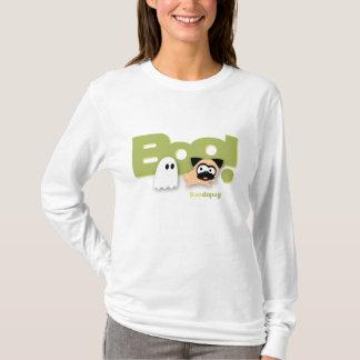 Tugg Boo! White T-Shirts (green)