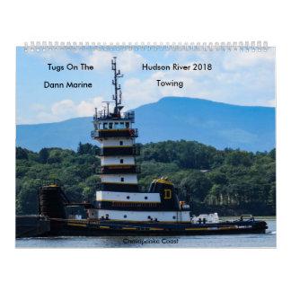 Tugs On The Hudson River Dann Marine  Towing 2018 Calendars