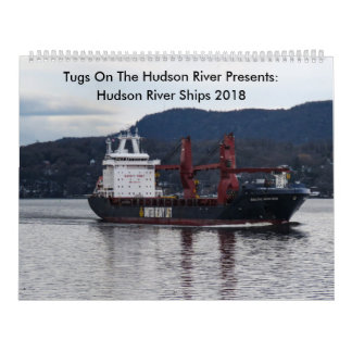 Tugs On The Hudson River With Hudson River Ships 2 Calendars