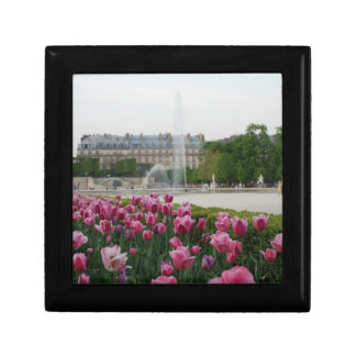 Tuileries Garden in bloom Small Square Gift Box