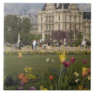 Tuileries Garden, Louvre, Paris, France Tile
