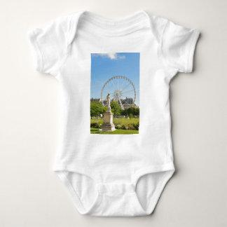 Tuileries gardens in Paris, France. Baby Bodysuit