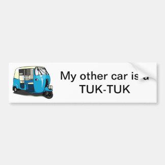 TUK TUK bumper sticker