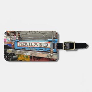 Tuk-tuk taxi Bangkok Thailand Bag Tag