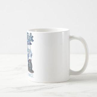 TukTuk Blue Print Coffee Mugs