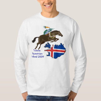 Tulane Equestrian Iceland T-shirt