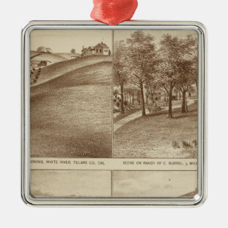 Tulare Co ranches, offices Christmas Ornament