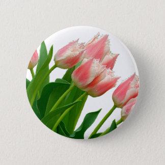 Tulip 6 Cm Round Badge