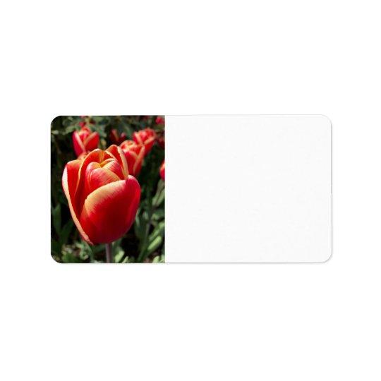 Tulip Address Label
