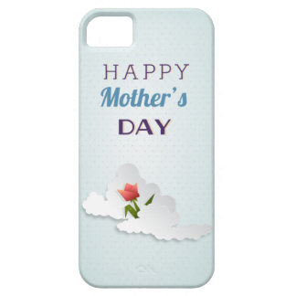 Tulip and Clouds Mother s Day iPhone 5 Cases