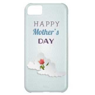 Tulip and Clouds Mother s Day iPhone 5C Covers