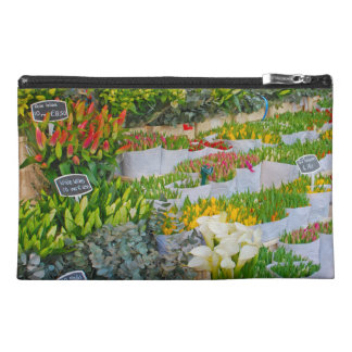 Tulip and Flower Market in Amsterdam Travel Accessory Bag