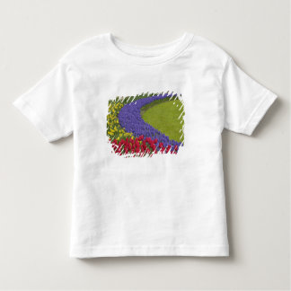 Tulip and Grape Hyacinth and daffodil garden, Toddler T-Shirt