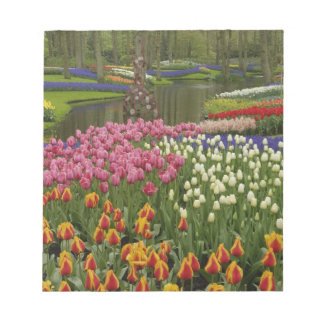 Tulip and hyacinth garden, Keukenhof Gardens, Notepad