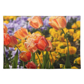 tulip bed placemat