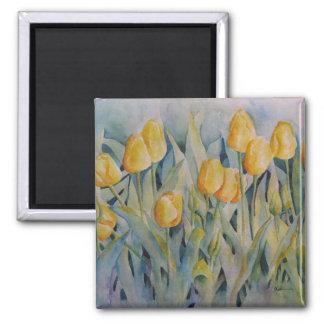 Tulip Bliss Square Magnet