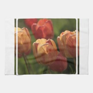 Tulip Blossoms Kitchen Towel