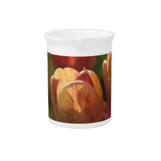 Tulip Blossoms Pitcher
