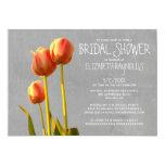 Tulip Bridal Shower Invitations