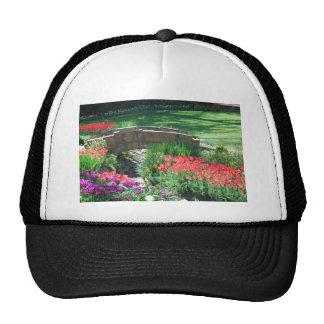 tulip bridge mesh hats