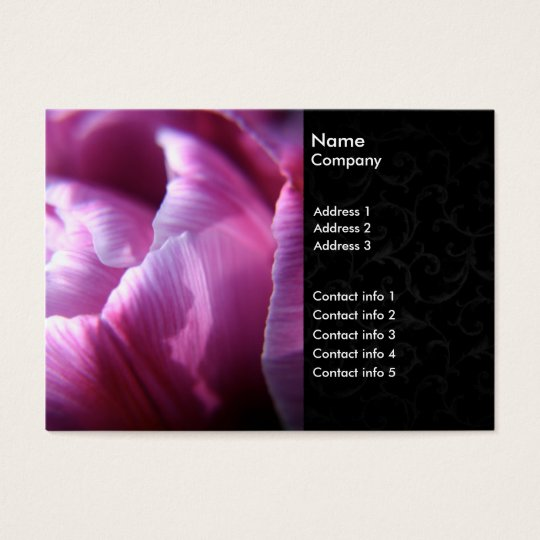 Tulip business cards