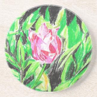 Tulip Beverage Coasters