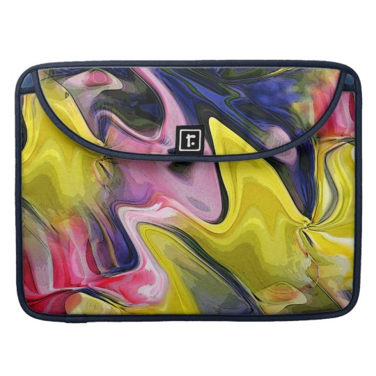 Tulip Colours Abstract MacBook Pro Sleeve
