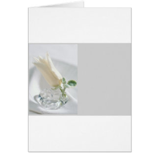 Tulip Crystal Greeting Card