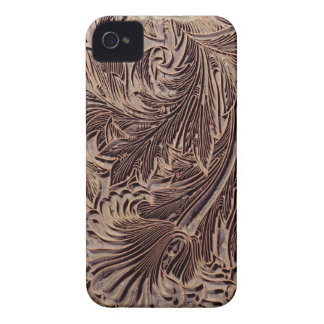 Tulip design printing block, 1875 (carved wood) iPhone 4 case