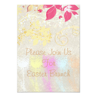 Tulip Easter Brunch Card